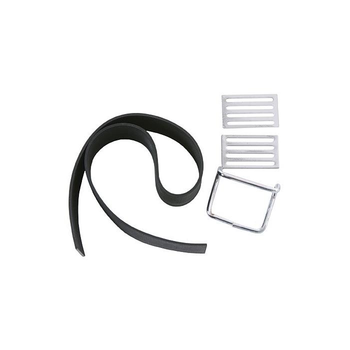 Λάστιχο μεταφοράς, μαύρο χρώμα, περιλαμβάνει 2 αγκράφες και 1 γάντζο από χρώμιο, εφαρμόζει στα μοντέλα KR51/1+2, S51, S50/S70, SR4-2/-3/-4, SR50/80