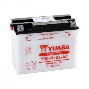 ΜΠΑΤΑΡΙΑ YUASA Y50-N18L-A3 12V/20AH