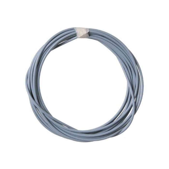 Ασημί/γκρι σπιράλ καλώδιο, 10 m, εσωτερικά 2,5 mm