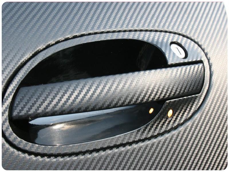 Carbon ΜΑΥΡΟ 100x152cm Bubble Free 580