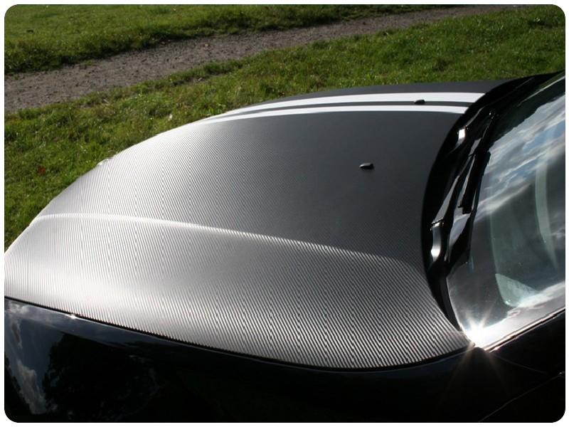 **Μεμβράνη Αυτοκόλλητο Carbon ΜΑΥΡΟ 3000x152cm 581 Bubble Free**