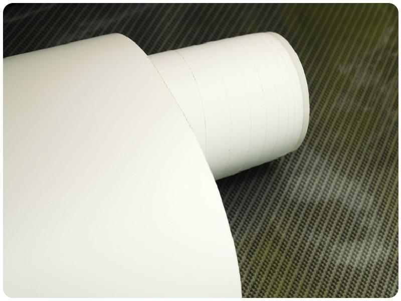 Μεμβράνη Αυτοκόλλητο Λευκό Ματ 3000x152cm Bubble Free 624