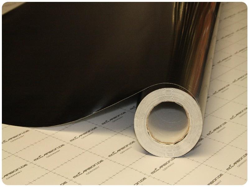 Μεμβράνη Αυτοκόλλητο ΜΑΥΡΟ Γυαλιστερό 200x152cm Bubble Free 629