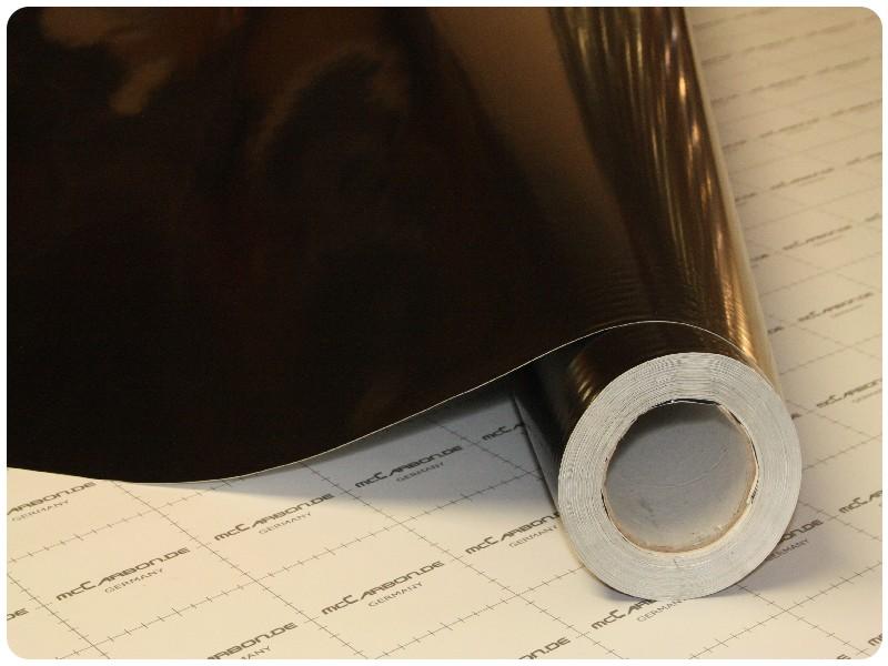 Μεμβράνη Αυτοκόλλητο ΜΑΥΡΟ Γυαλιστερό 150x152cm Bubble Free 629 7