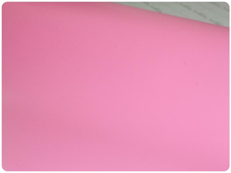 Μεμβράνη Αυτοκόλλητο Ροζ Ματ 50x152cm Bubble Free 630