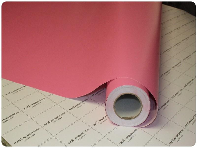 Μεμβράνη Αυτοκόλλητο Ροζ Ματ 1000x152cm Bubble Free 630