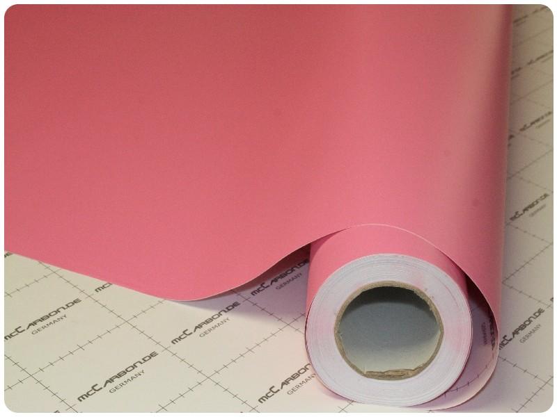 Μεμβράνη Αυτοκόλλητο Ροζ Ματ 200x152cm Bubble Free 630