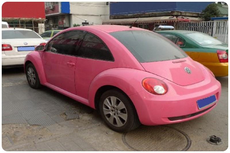 Μεμβράνη Αυτοκόλλητο Ροζ Γυαλιστερό 50x152cm Bubble Free 636