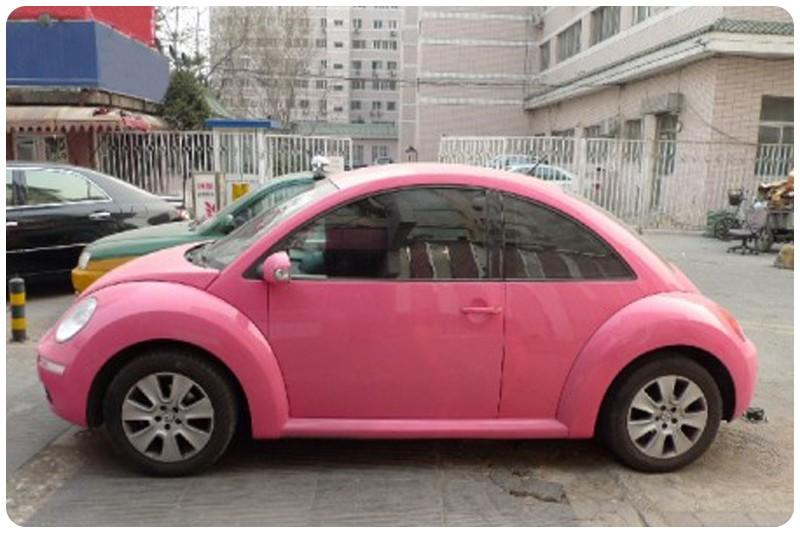 Μεμβράνη Αυτοκόλλητο Ροζ Γυαλιστερό 100x152cm Bubble Free 636