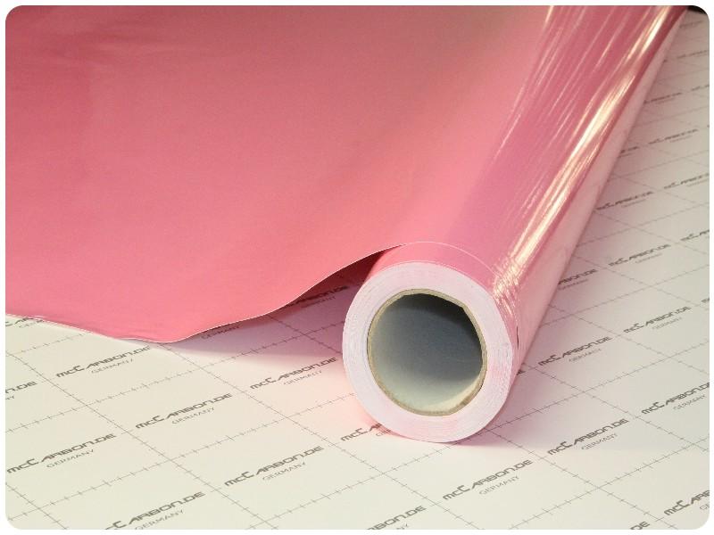 Μεμβράνη Αυτοκόλλητο Ροζ Γυαλιστερό 150x152cm Bubble Free 636