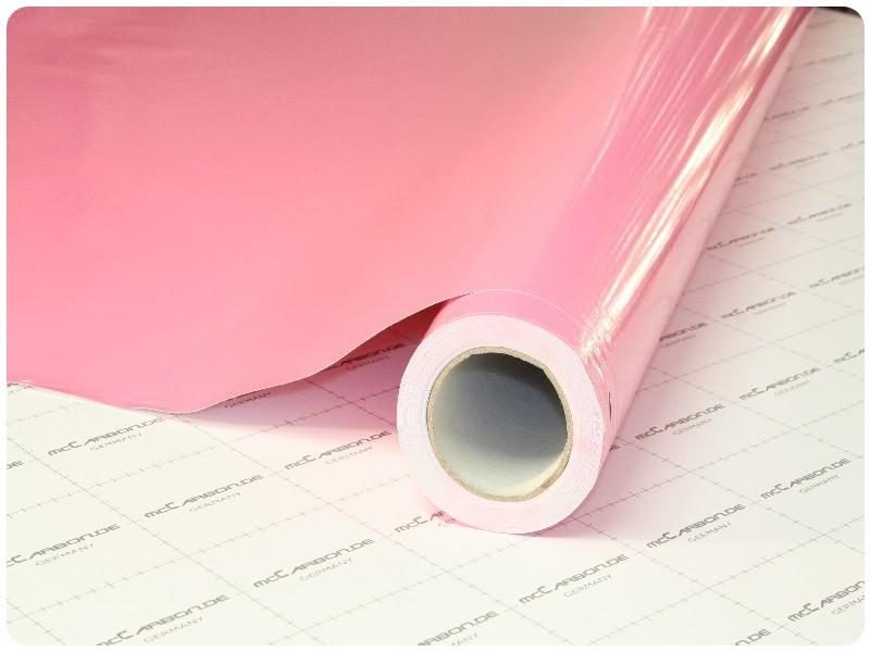 Μεμβράνη Αυτοκόλλητο Ροζ Γυαλιστερό 200x152cm Bubble Free 636