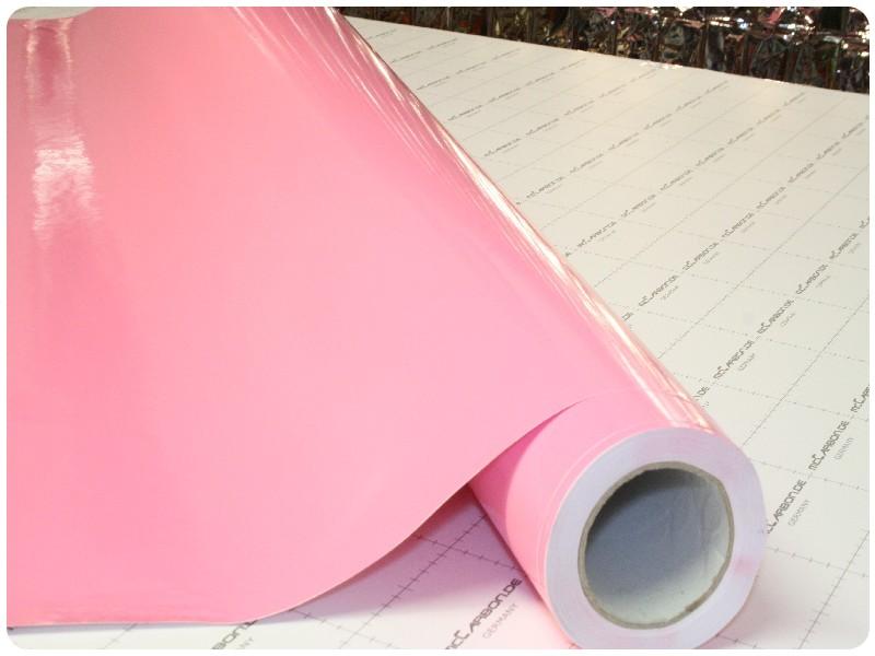 Μεμβράνη Αυτοκόλλητο Ροζ Γυαλιστερό 300x152cm Bubble Free 636