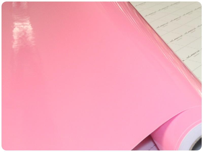 Μεμβράνη Αυτοκόλλητο Ροζ Γυαλιστερό 500x152cm Bubble Free 636