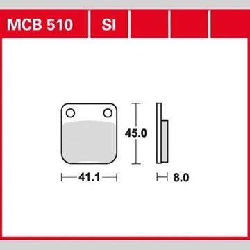 ΤΑΚΑΚΙΑ MCB510 TRW LUCAS ΓΕΡΜΑΝΙΑΣ F54/257