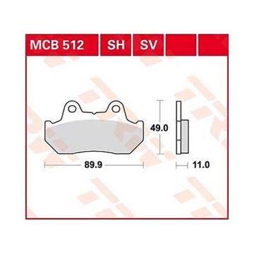ΤΑΚΑΚΙΑ MCB512 TRW LUCAS ΓΕΡΜΑΝΙΑΣ F69/3