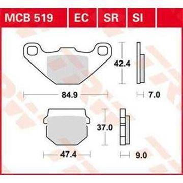 ΤΑΚΑΚΙΑ MCB519 TRW LUCAS ΓΕΡΜΑΝΙΑΣ F83