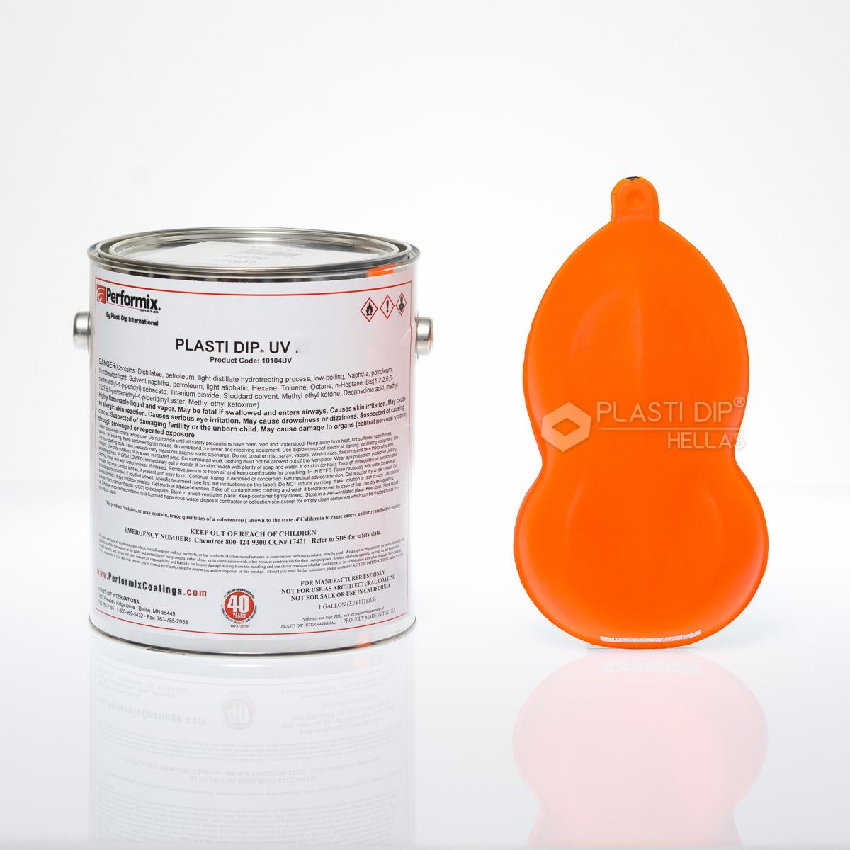 Plasti dip σε Υγρή μορφή Fluorescent Orange Unthinned(παχύρευστο)