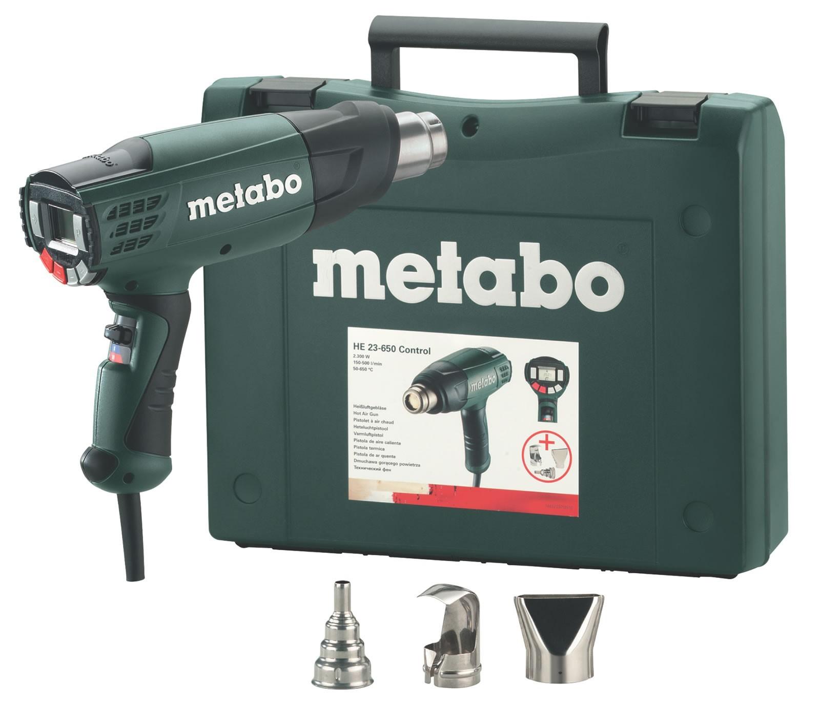Πιστόλι Θερμού Αέρα Metabo 2300W HE 23-650 Control