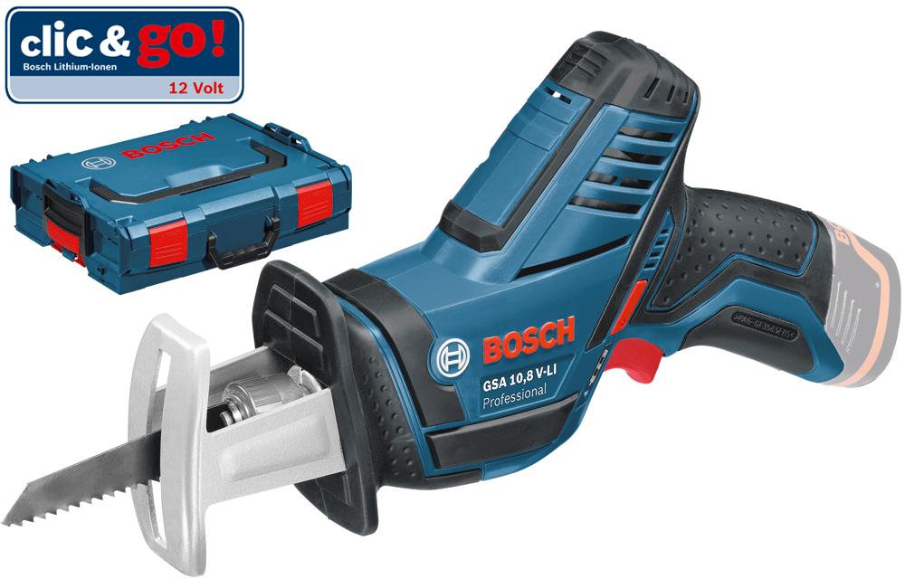 Σπαθόσεγα Bosch GSA 12 V-Li Professional Solo