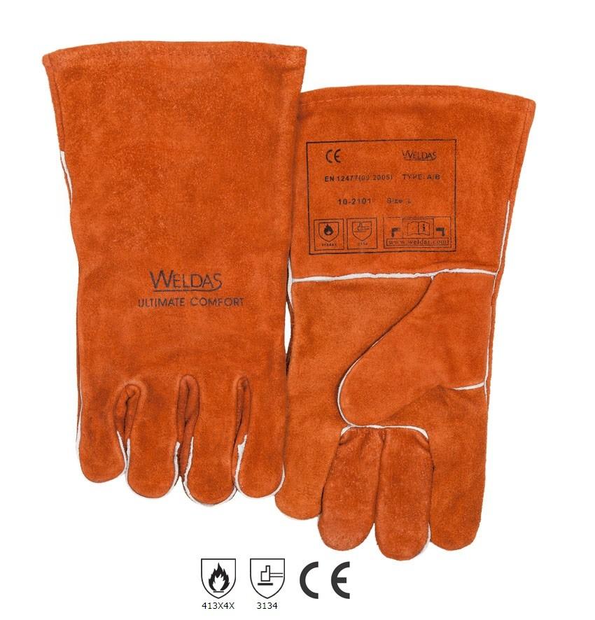 Γάντια Ηλεκτροσυγκολλητού Weldas 10-2101
