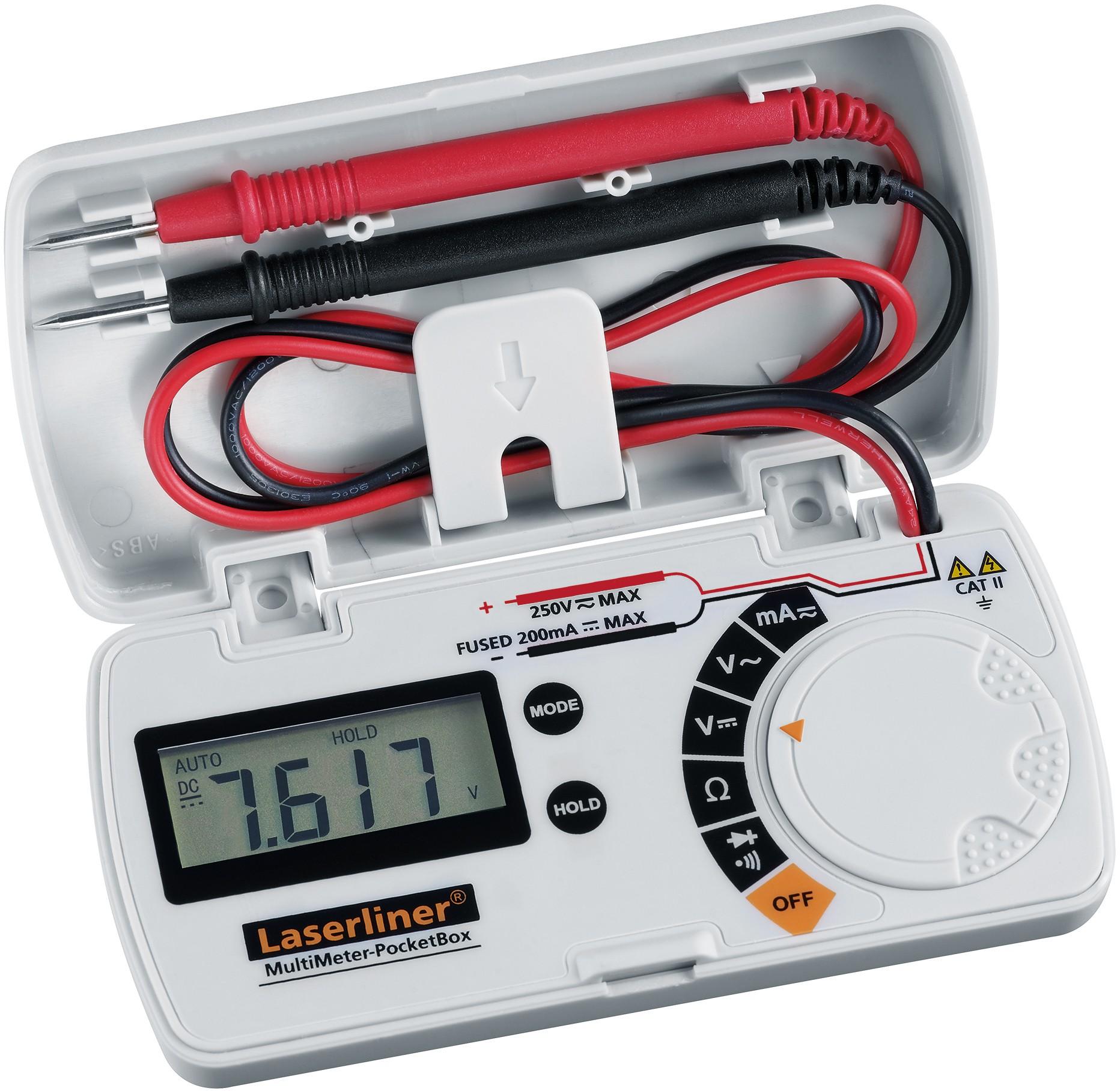 Πολύμετρο MultiMeter PocketBox Laserliner