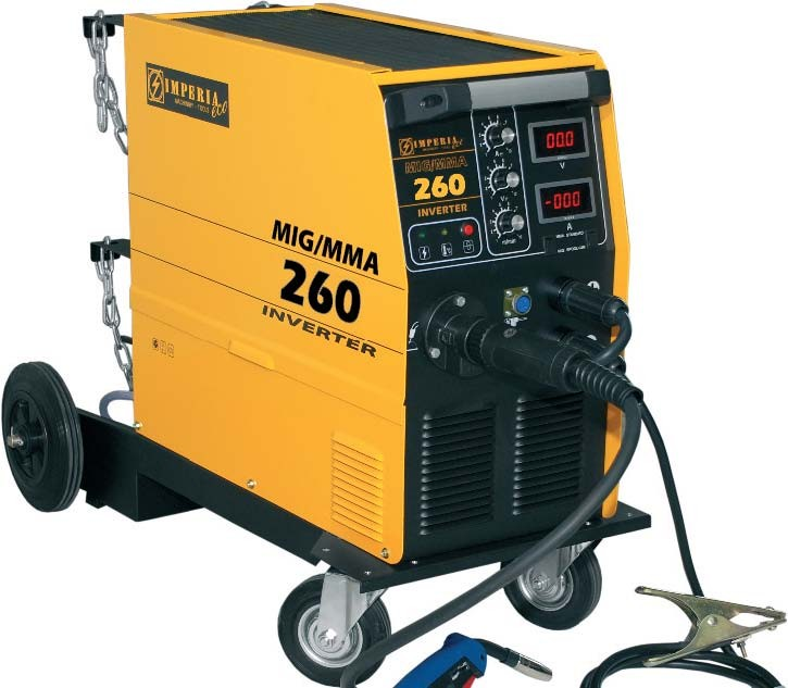 Ηλεκτροκόλληση Imperia Σύρματος & Ηλεκτροδίου (MIG/MMA) Inverter MIG 260 65655