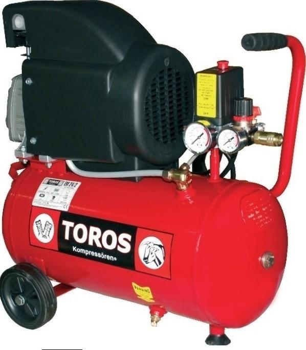 Αεροσυμπιεστής Toros 2HP / 24L 40140