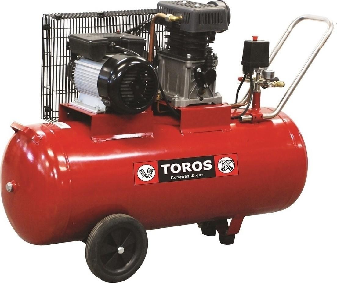 Αεροσυμπιεστής Toros 2 HP / 100L 40144