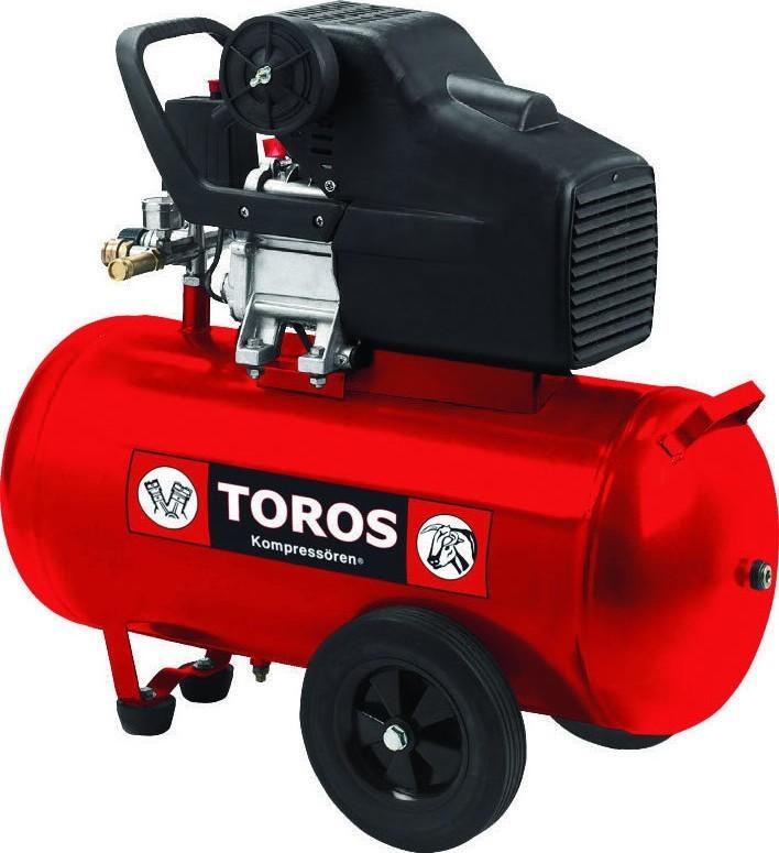 Αεροσυμπιεστής Toros 2.5HP / 50L 40138