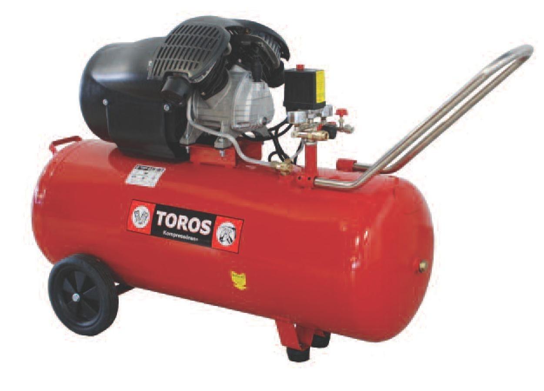 Αεροσυμπιεστής Toros 3HP / 100L 40139