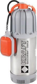 Υποβρύχια Αντλία πηγαδιών Kraft SP 1000XP-4V