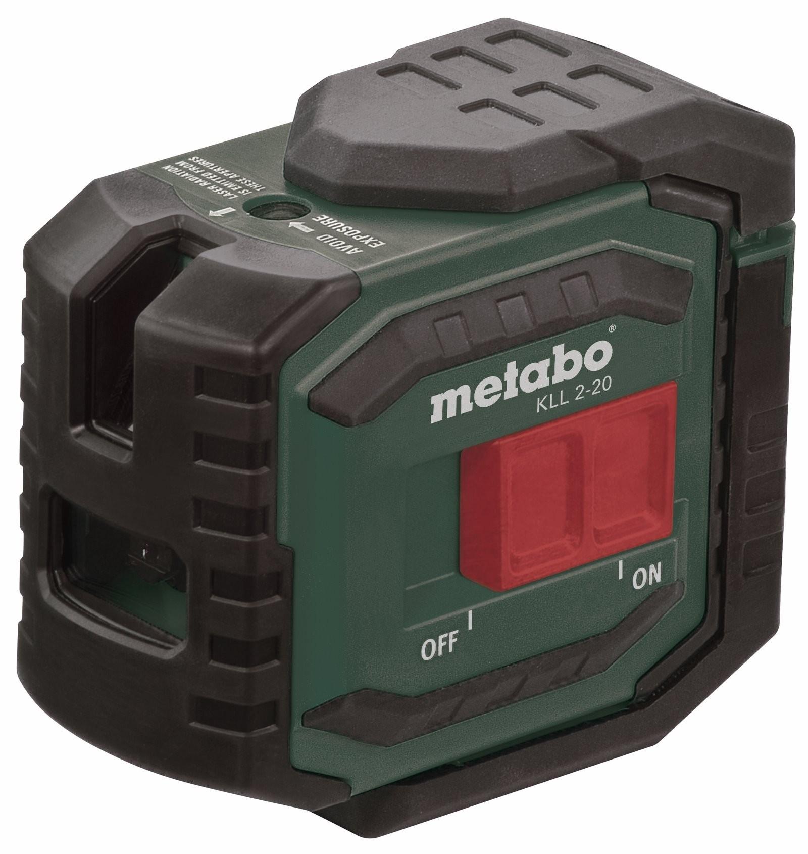 Αποστασιόμετρο Laser σταυρού Metabo KLL 2-20