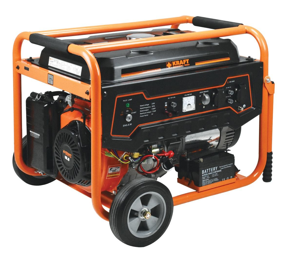Ηλεκτρογεννήτρια Βενζίνης Kraft LT 9000
