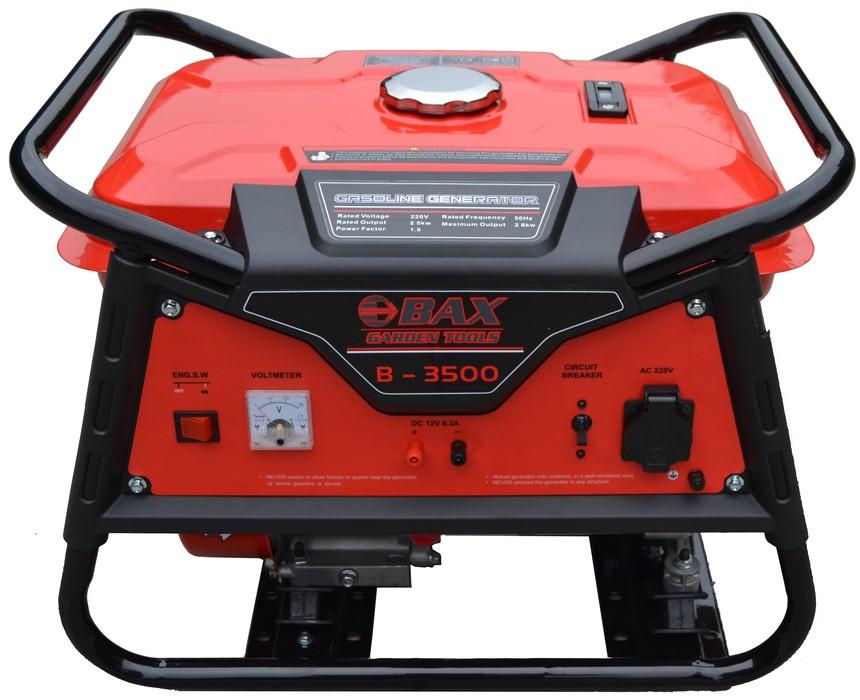 Ηλεκτρογεννήτρια Βενζίνης BAX RAPTOR B-3500 2.500W
