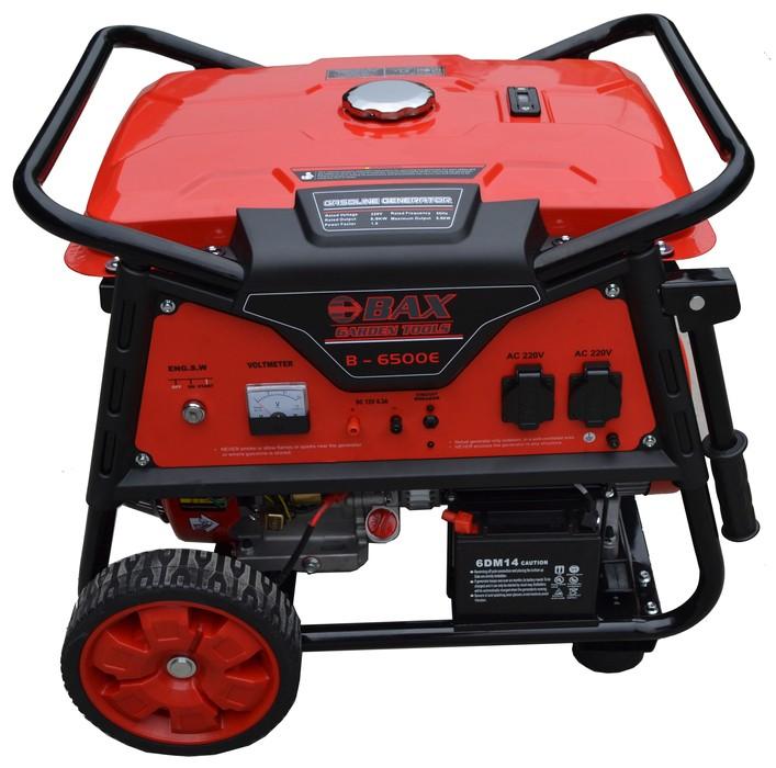 Ηλεκτρογεννήτρια Βενζίνης BAX RAPTOR B-6500E 5.000W