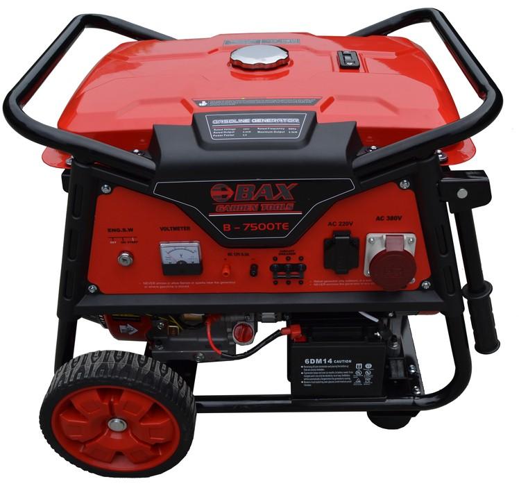 Ηλεκτρογεννήτρια Βενζίνης BAX RAPTOR B-7500TE 6.000W