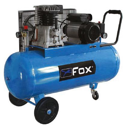 Αεροσυμπιεστής Fox 3HP / 100L FL100/220/3