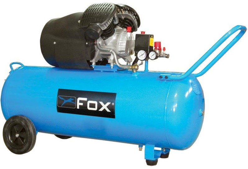 Αεροσυμπιεστής Fox 3HP / 100L FL100/ 3V