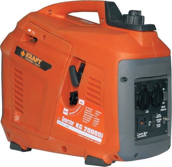 Ηλεκτρογεννήτρια Βενζίνης Kraft Inverter KG 2000 Si 63743