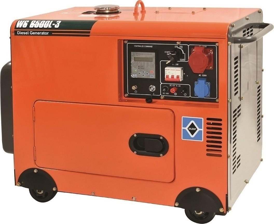 Ηλεκτρογεννήτρια Πετρελαίου Kraft WS 8500L 3