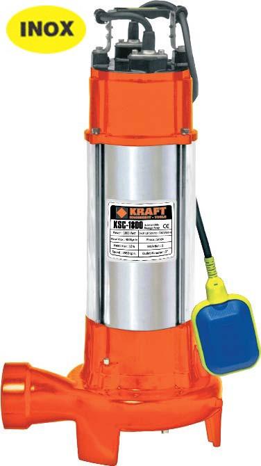 Υποβρύχια Αντλία Λυμάτων KSC Kraft 1300