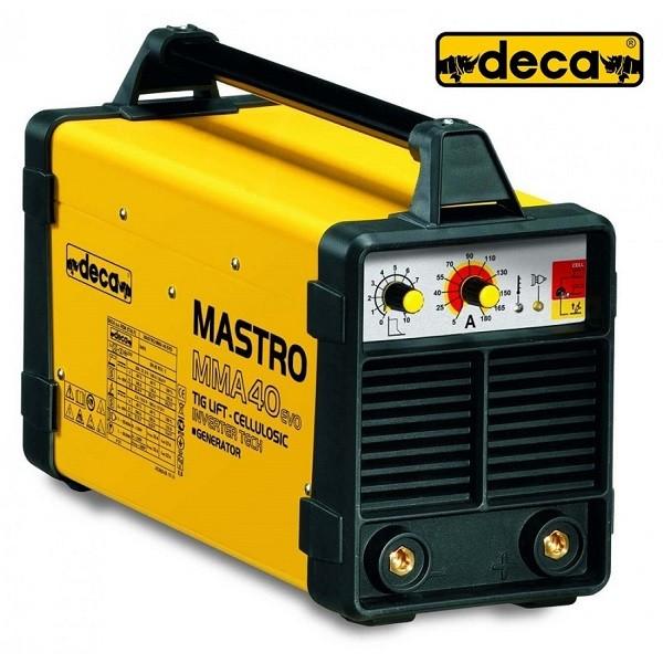 Ηλεκτροκόλληση Deca Ηλεκτροδίου & Tig Inverter Mastro 40Evo