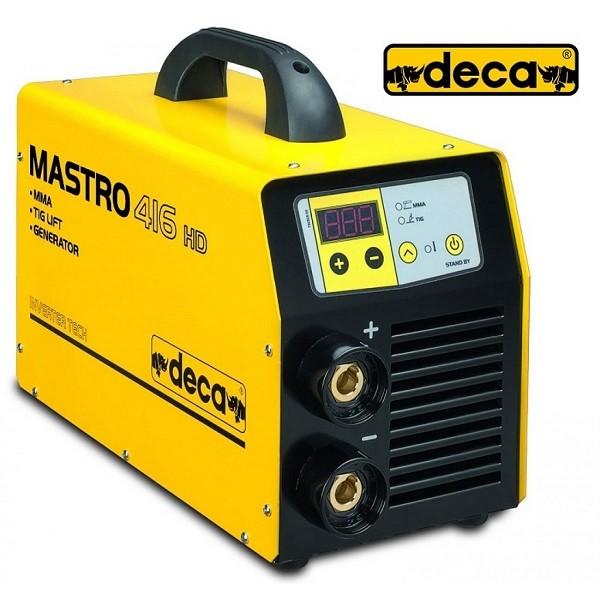 Ηλεκτροκόλληση Deca Ηλεκτροδίου & Tig Inverter Mastro 416 HD Gen