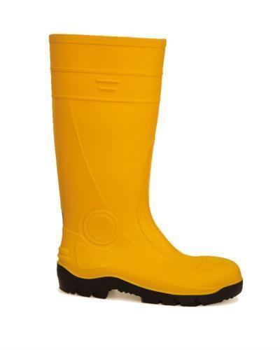 Μπότες ασφαλείας αδιάβροχες κίτρινες S5