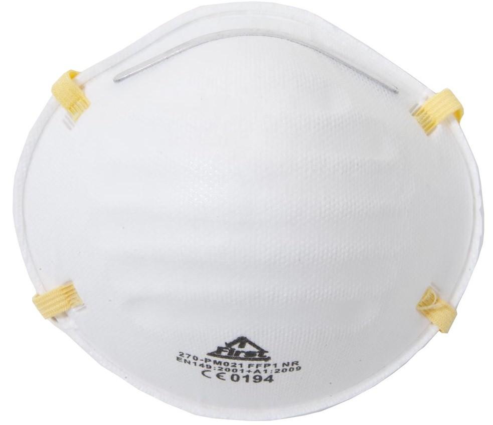 Μάσκα χάρτινη PM021 FFP1 FIRST