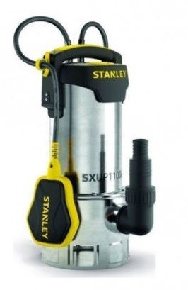 Υποβρύχια Αντλία Ακάθαρτων Υδάτων Stanley 1100W SXUP1100XDE
