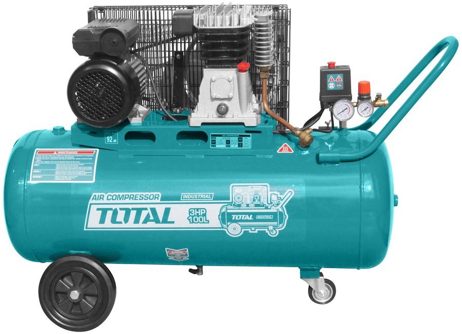 Αεροσυμπιεστής Total 3HP / 100L TC1301005