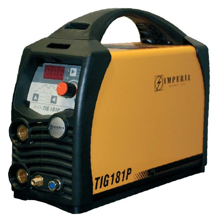 Ηλεκτροκόλληση Imperia TIG & MMA Inverter TIG 181 P 65646