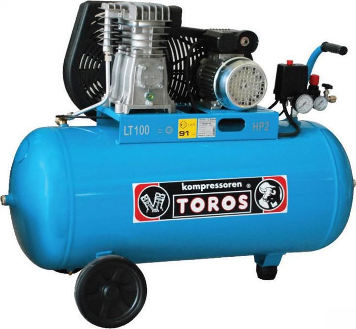 Αεροσυμπιεστής Toros 2HP /100L 602007