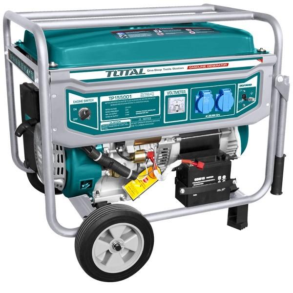 Ηλεκτρογεννήτρια Βενζίνης Total 5000W TP155001